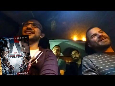 SPOILER CAR: Captain America Civil War