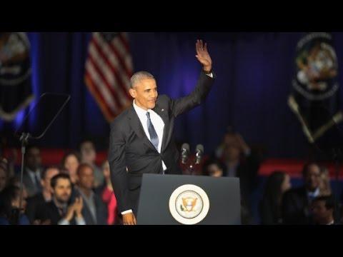 Watch President Obama's full farewell address