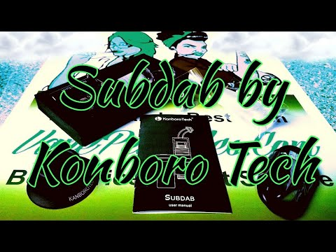 Subdab by Kanboro Tech - Unboxing