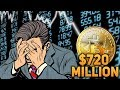 Bitcoin Dump Incoming!? Old Mt.Gox Whale Is Back with $720 000 000 Million Dollars!