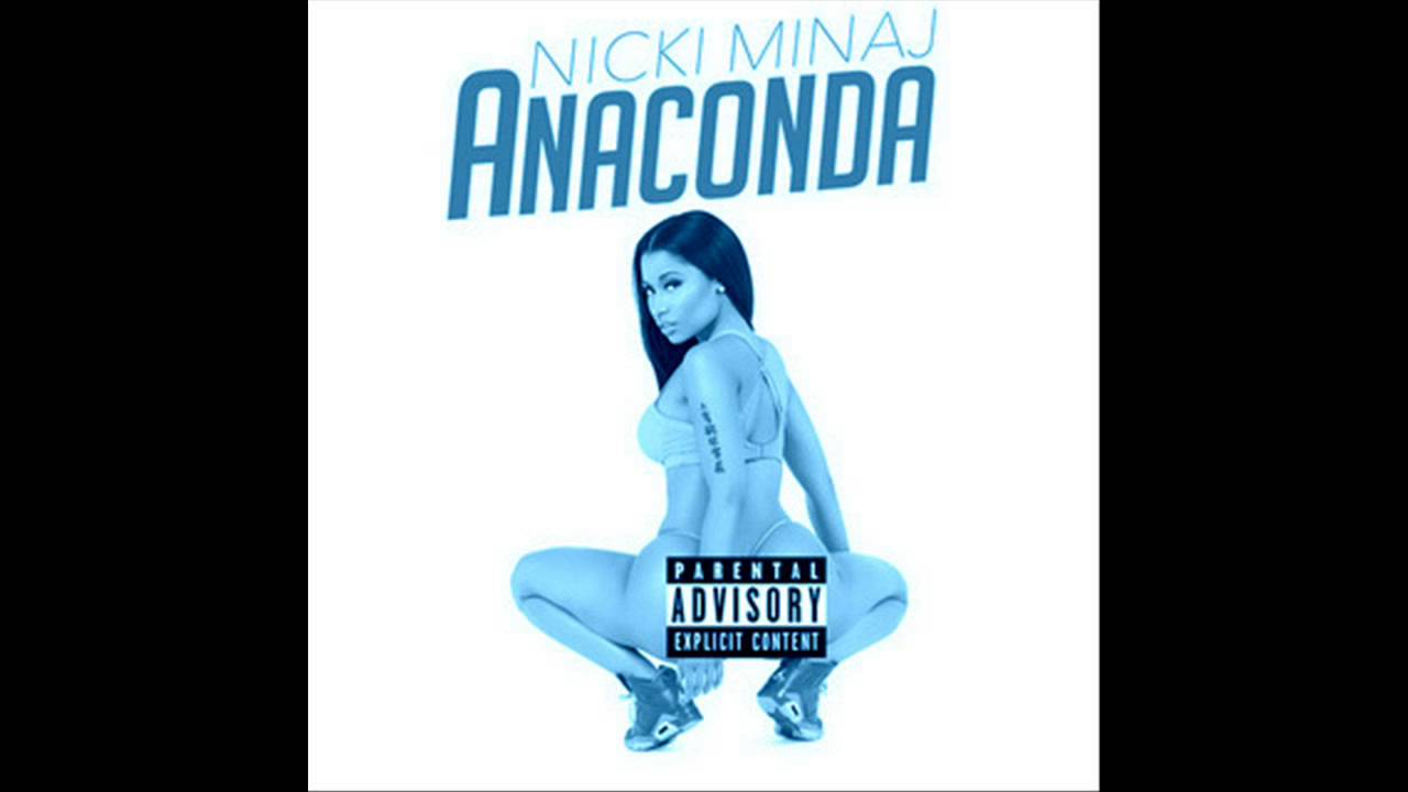 Anaconda Nicki Minaj Squeaky Clean Version Radio