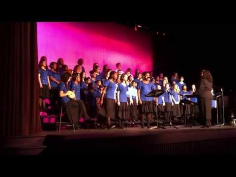 Ezri opens the show! Brooklyn Park Middle School!