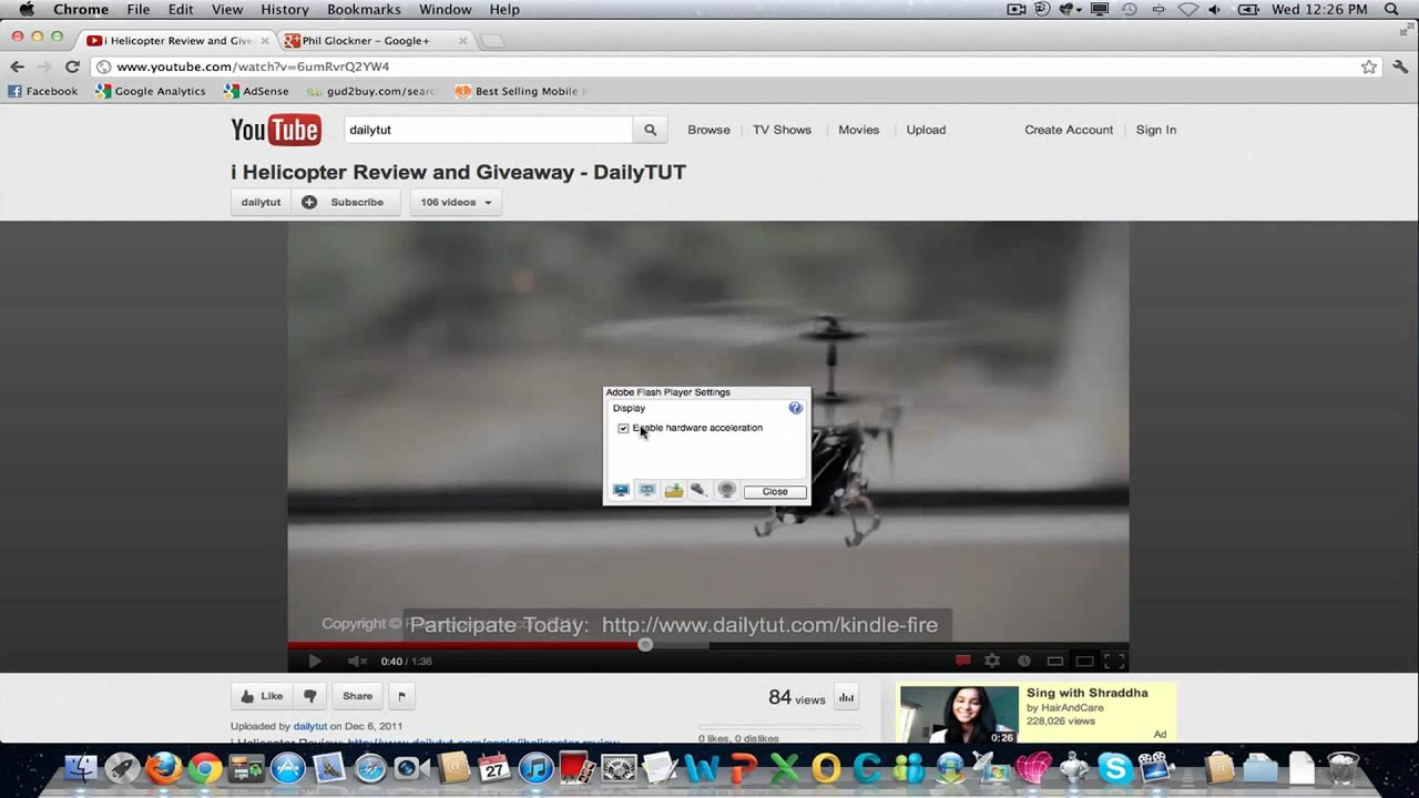 HOW TO: Fix Google Chrome Screen Flickering in Mac OS ?