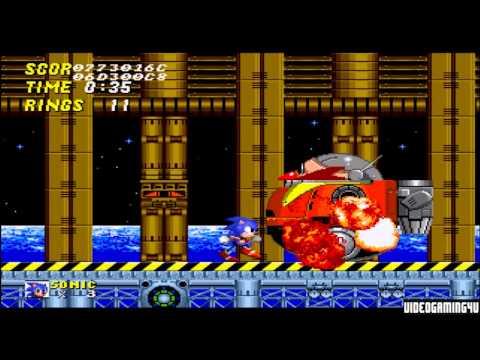 Sonic the Hedgehog 2 (Sega Genesis) - Endings  