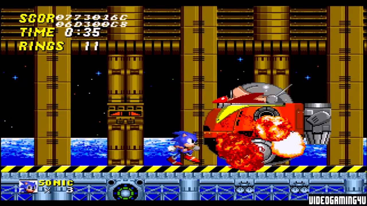 Sonic The Hedgehog 2 Sega Genesis Endings Youtube