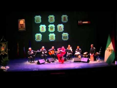 Grupo Flamenco Barrio viejo   Sole por Bulerias al baile ROSA LA HOZ.wmv Al cante Pedro Chaparro