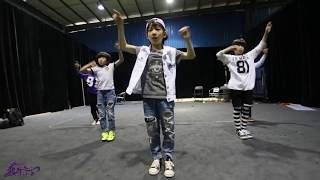 2015.4.24 Dragon Boys Practicing Video 龙拳小子 练习视频《 防弹少年团 男子汉 BTS Boy In Luv》