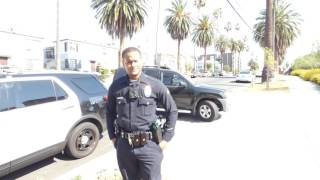LAPD Olympic Area Station: WHO ARE YOU?  WHO ARE YOU? 1st Amend Audit