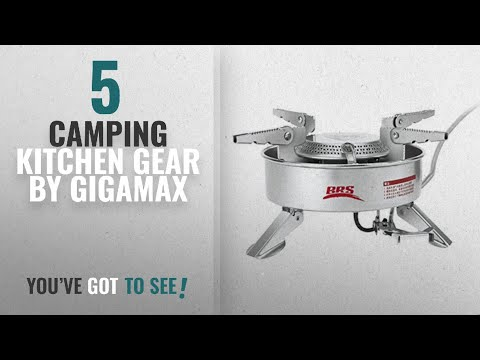 Top 5 Gigamax Camping Kitchen Gear [2018]: GigaMax(TM) Outdoor Portable Camping Picnic Gas Stove