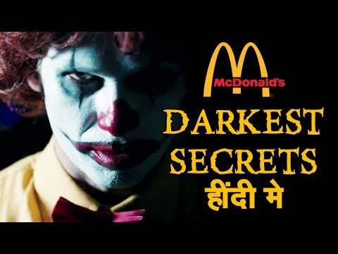 [हिन्दी] Darkest Secrets Of McDonald's In Hindi | McDonalds | Mac Donalds | Mc D Fast Food Facts