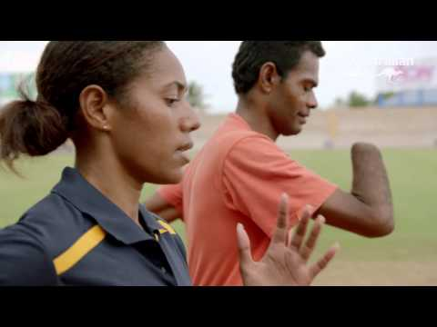 Promoting disability inclusion through sport in Fiji - Athletics