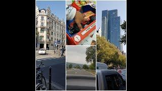Porche Jacke unpackungen//Travelling to Gießen and Frankfurt//Pakistan Embassy Besuchen//