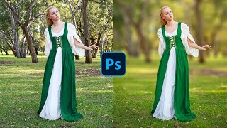 How To Blur Backgrounds in Photoshop [FAST & EASY!] screenshot 4