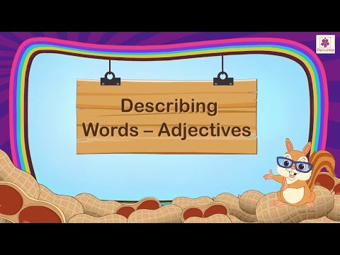 Describing Words Adjectives For Kids | Grammar Grade 1 | Periwinkle