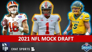 2021 NFL Mock Draft: NEW 1st Round Projections Ft. Micah Parsons, Trevor Lawrence & Justin Fields