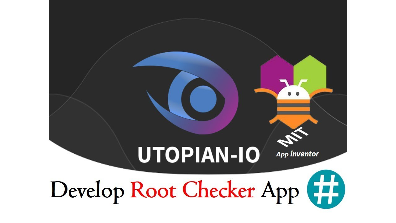 How to Develop Root Checker App without codding MIT App