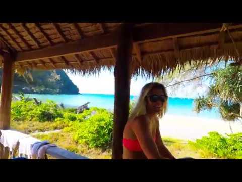 Lazy Beach Resort On Koh Rong Samloem Cambodia January 2017