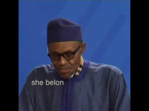Video: President Buhari's Kitchen comment go viral