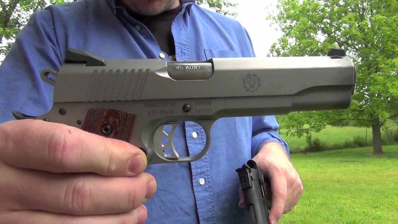 Ruger 1911 vs Springfield Range Officer