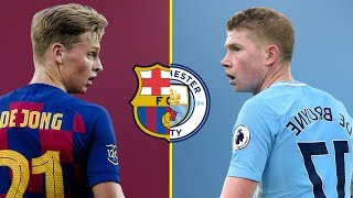 Kevin De Bruyne VS Frenkie De Jong - Who Is The Best Midfielder - Amazing Passes and Skills - 2019