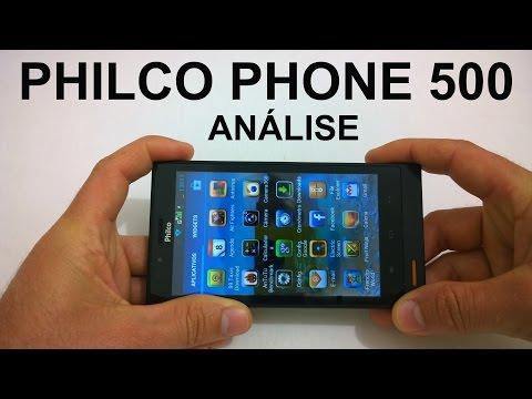 Philco Phone 500 - Análise do Aparelho [Review Brasil]