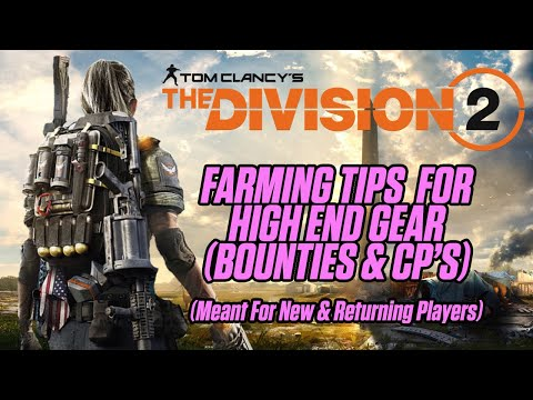 THE DIVISION 2 | TIPS FOR NEW PLAYERS | BEST WAYS TO FARM