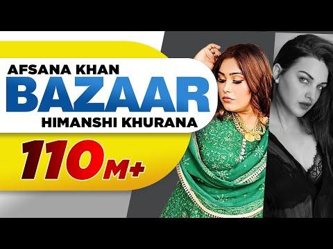 Bazaar (Full Video)| Afsana Khan Ft Himanshi Khurana | Yuvraj Hans | Gold Boy | New Punjabi Song2020
