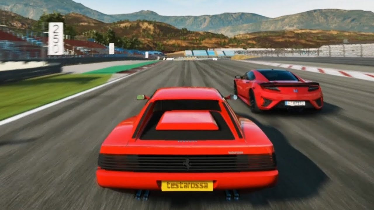 The Grand Tour Game Ferrari Testarossa Gameplay Ps4 Hd 1080p60fps Youtube