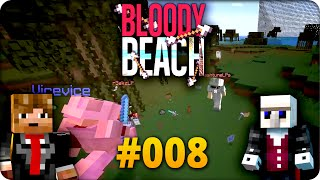 Endgeil: Gegen 2 Teams!! - Minecraft ♦ BLOODY BEACH #008 | Let