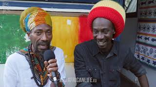 Videointerview, Meta & The Cornerstones, One Love Reggae Festival 2017, Lignano, Italy