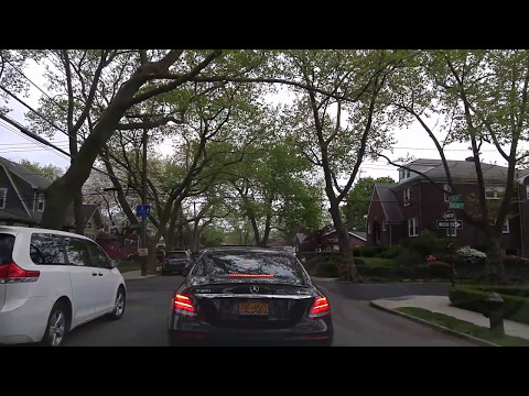 Driving by New Dorp in Staten Island,New York