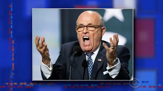 Late Show's Alter Egos: Rudy Giuliani Edition