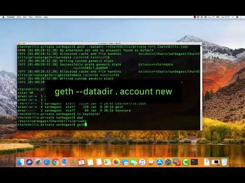 Set Up A Private Ethereum Node On MacOS