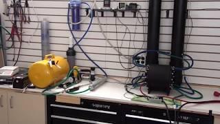 Pure Hydrogen Generator Split cell system. Hydrogen compression.
