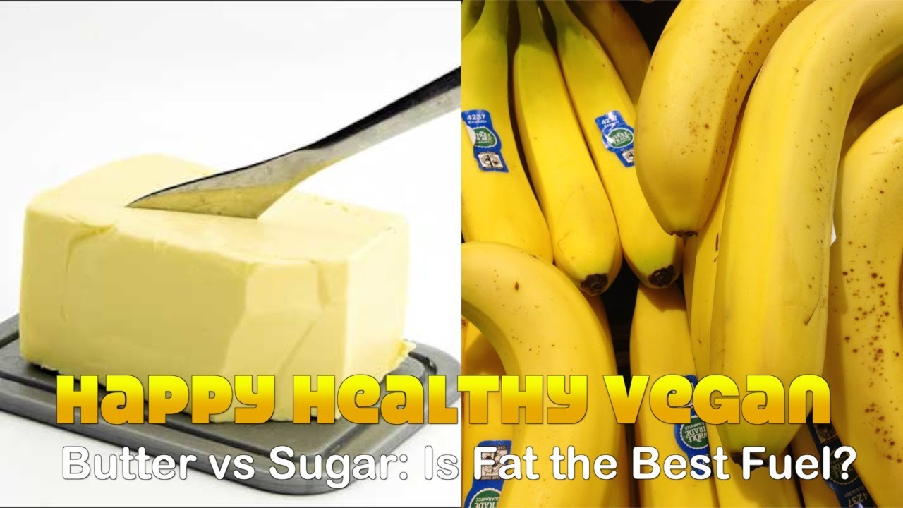 Butter vs Sugar: Is Fat the Best Fuel For Our Body?