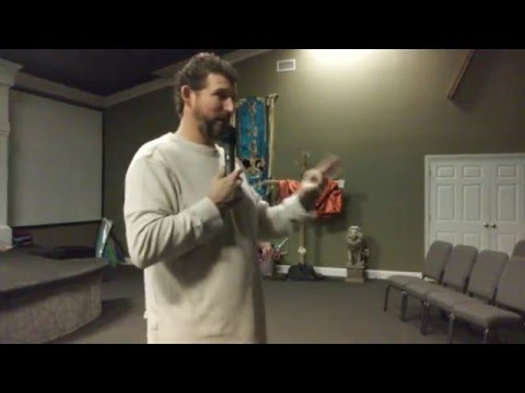 Youth Pastor Marcus Shoemake on 012616 at THOB Youth Service