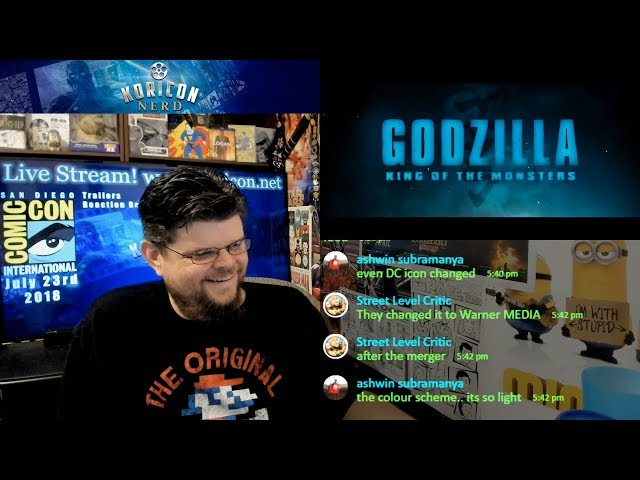 🎥 Godzilla: King of the Monsters - SDCC Trailer Reaction Review!