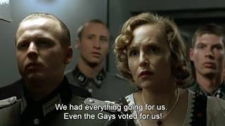 Hitler is told the UK have voted to Brexit the EU