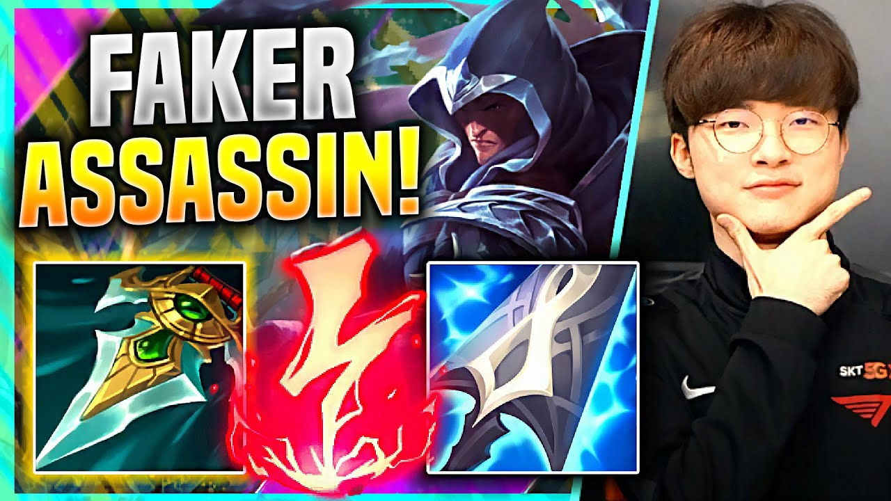 FAKER IS BACK WITH ASSASSIN STYLE? - T1 Faker Plays Talon Mid vs Twisted Fate! | KR SoloQ Patch 11.5