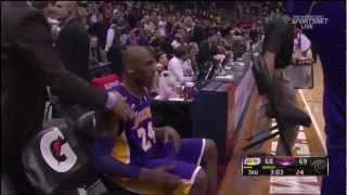 Kobe Bryant Brings ATL Crowd Into a Frenzy (March 13, 2013)