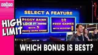 ☝️ HIGH Limit BONUS Decisions?! 💰 BIG 💲 @ Hard Rock AC ✪ BCSlots