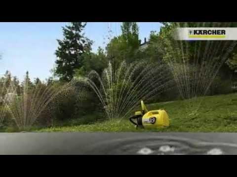 mantenimiento de jard n con bombas de riego karcher por