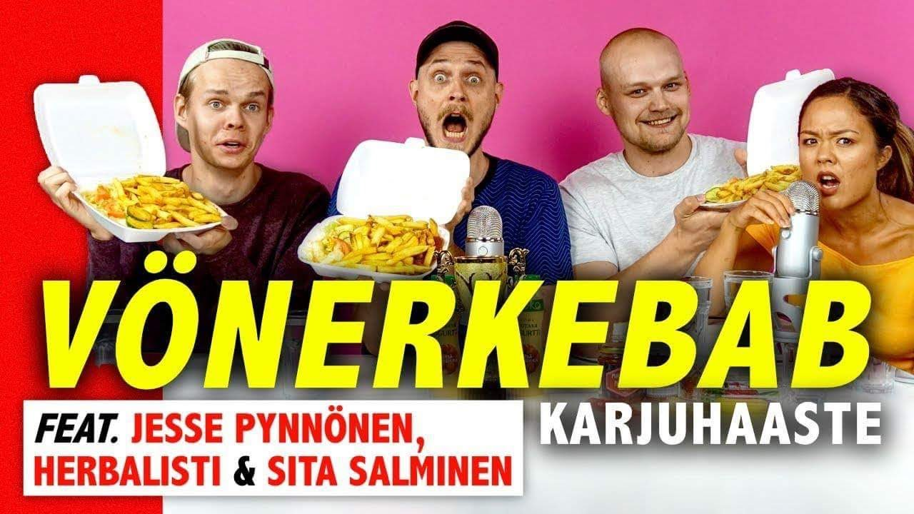 VÖNERKEBABIN SYÖNNIN SM-KISAT 2018 (ft. Jesse Pynnönen, Herbalisti, Sita Salminen) | Kalenterikarju