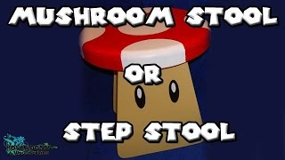 How To Make A Mushroom Stool Or Step Stool