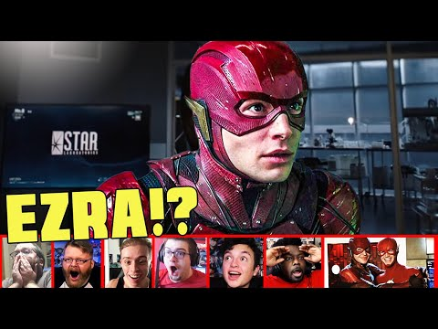 Reactors Reaction To Seeing Justice League's Flash In Arrowverse Crisis On Infinite Earths Part 4