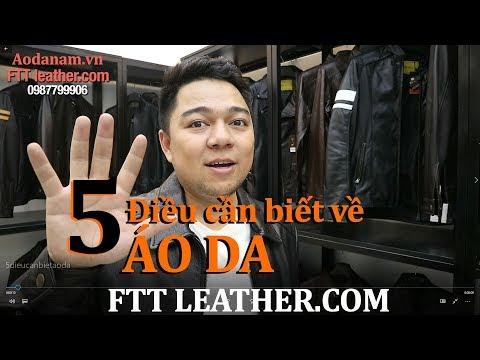 5 Điều Cần Biết Khi Sở Hữu áo Da Thật - FTT Leather
