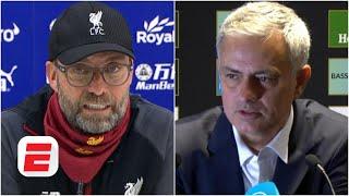 Unai Emery, Jurgen Klopp, Jose Mourinho & Premier League managers react to results | ESPN FC