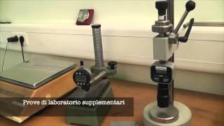 Test di allungamento a rottura membrane sintetiche VAETECH