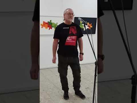 Alex Goncharenko (Алексей Гончаренко). ART in process. RHWK. Berlin. 2018