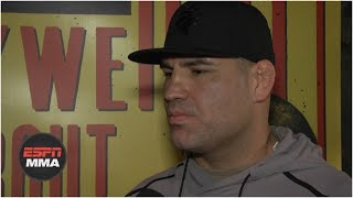 Cain Velasquez expecting 'war' vs. Francis Ngannou | UFC Fight Night: Phoenix